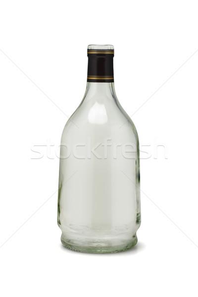 Empty Glass Bottle Stock photo © dezign56