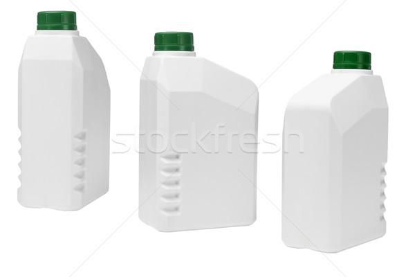 Stockfoto: Plastic · industriële · industrie · kleur · motor · container