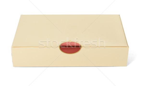 Sealed Paper Box  Stock photo © dezign56