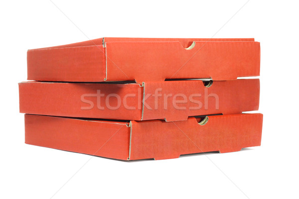 Pizza Delivery Boxes Stock photo © dezign56