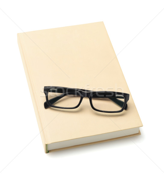 Spectacles On Book Stock photo © dezign56