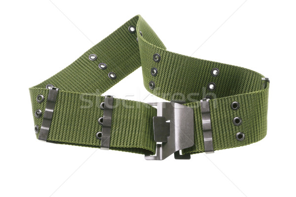 Nylon Canvas Army Belt Stock photo © dezign56