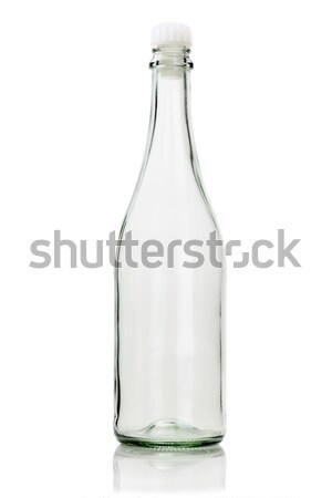 Empty Glass Bottle  Stock photo © dezign56
