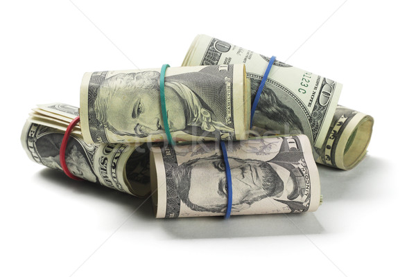 Rolls of US Dollars Stock photo © dezign56