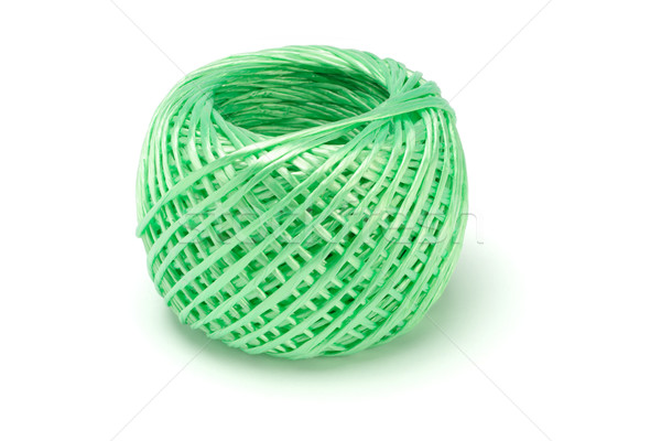 Bola nylon corda branco verde corda Foto stock © dezign56