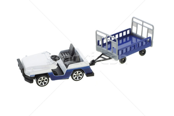 Airport baggage transporter Stock photo © dezign56