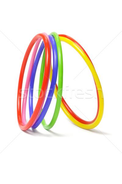 multicolor plastic bangles  Stock photo © dezign56