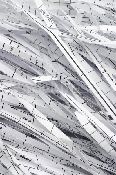 Residuos papel tiras negocios fondo Foto stock © dezign56