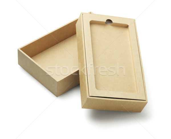 Smartphone Packaging Box Stock photo © dezign56