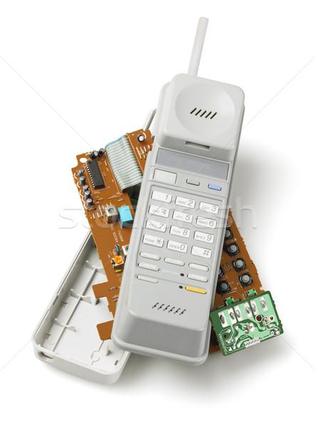 Wireless Telephone Handset Stock photo © dezign56