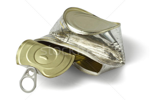 Crumpled Metal Tin can Stock photo © dezign56