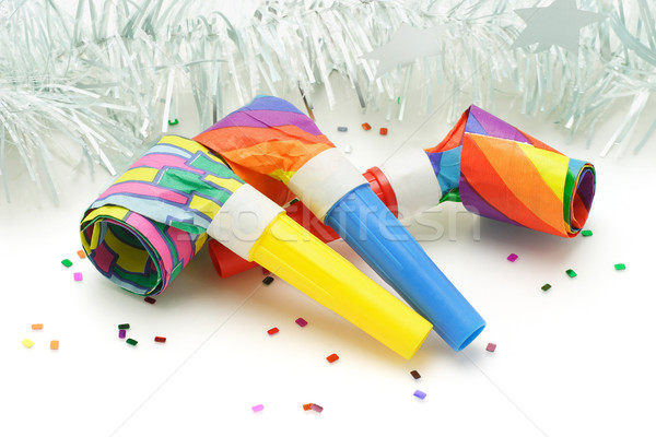 Party blowers Stock photo © dezign56