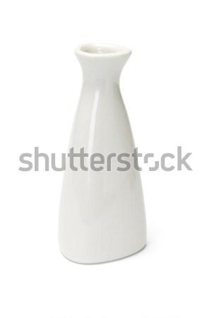 Chinese porselein vaas geïsoleerd witte container Stockfoto © dezign56