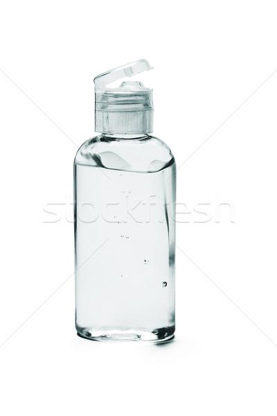 Mão gel plástico garrafa branco saúde Foto stock © dezign56