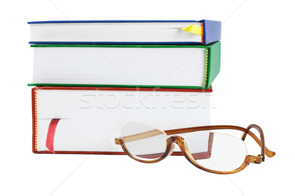 Reading Glasses And Text Books Stock photo © dezign56