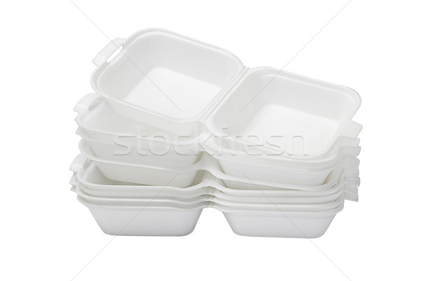 Open Styrofoam Boxes  Stock photo © dezign56