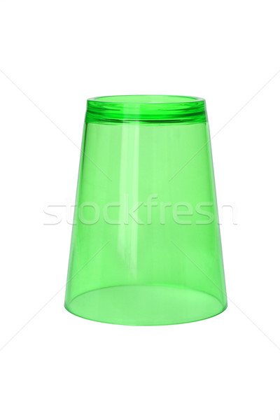Inverted Green Plastic Cup  Stock photo © dezign56