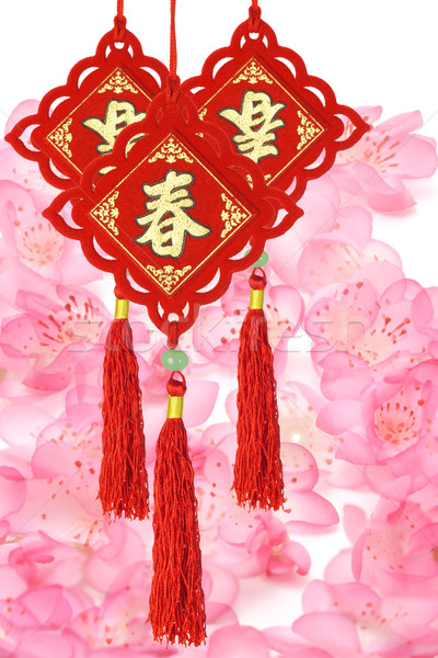 Traditional Chinese New Year ornaments  Stock photo © dezign56
