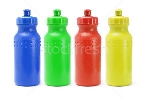 пластиковых воды красочный спорт группа осуществлять Сток-фото © dezign56