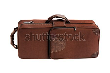 Stock photo: Carry Case For Brass Musical Instrument