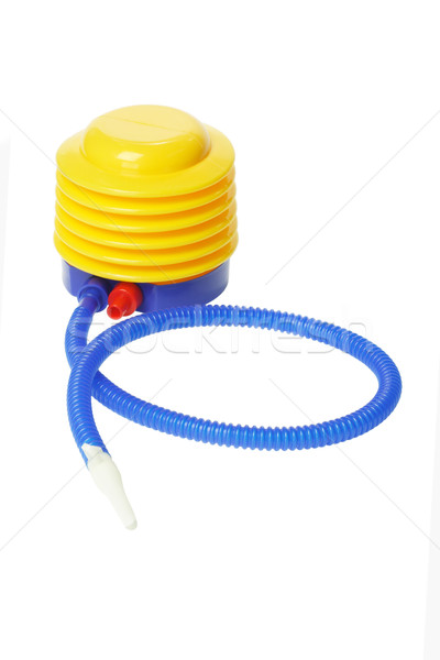 Colorful Plastic Air Pump Stock photo © dezign56