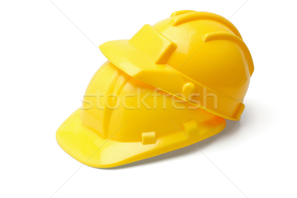 Yellow safety helmets Stock photo © dezign56