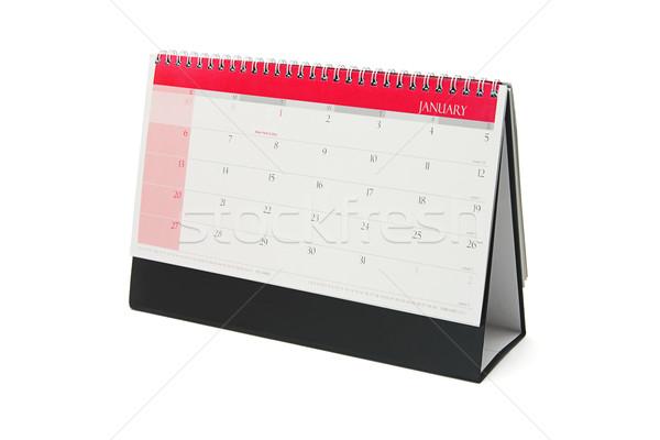 área de trabalho calendário mês negócio objeto Foto stock © dezign56