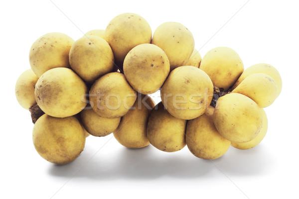 Сток-фото: фрукты · тропические · белый · продовольствие · Азии
