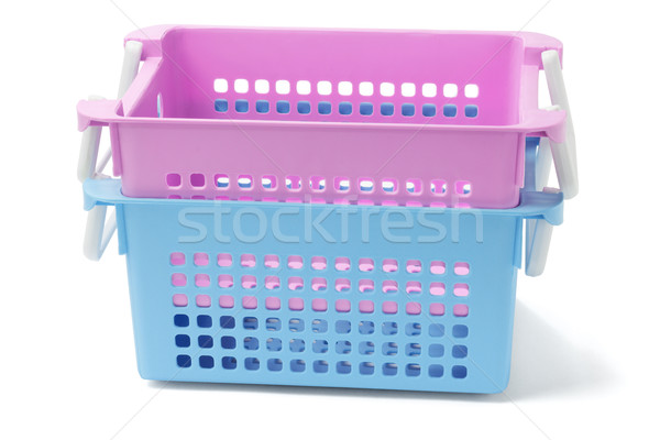 Two Plastic Baskets  Stock photo © dezign56