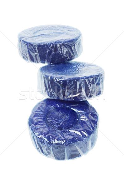 Blue Toilet Cleaner Tablets Stock photo © dezign56