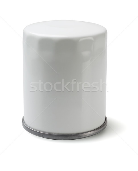 Auto olie filteren witte auto metaal Stockfoto © dezign56