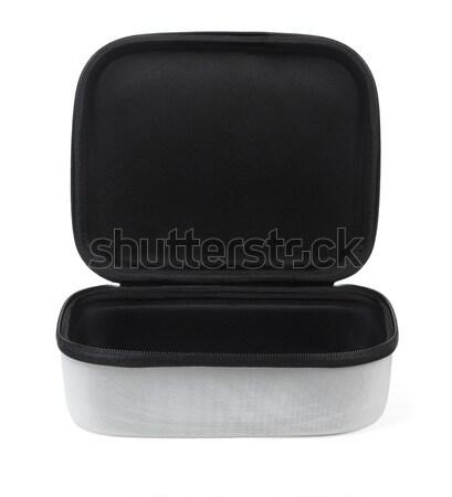 Nyitva hordoz tok fehér szerszám elektronikus Stock fotó © dezign56