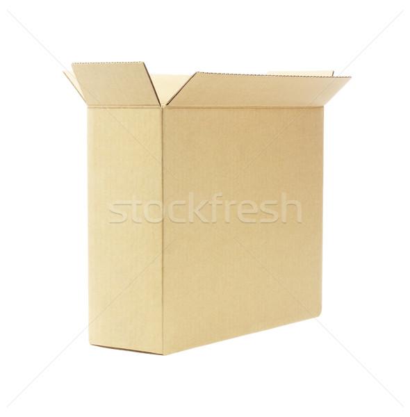 Open Empty Paper Box  Stock photo © dezign56