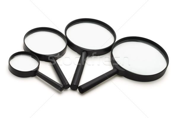 Magnifying Glasses Stock photo © dezign56
