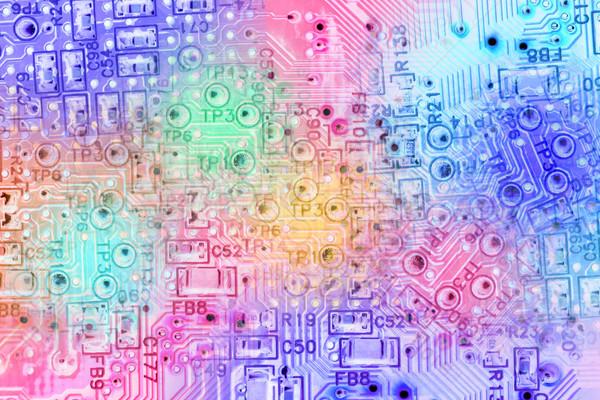 аннотация электронных схеме текстуры дизайна Сток-фото © dezign56