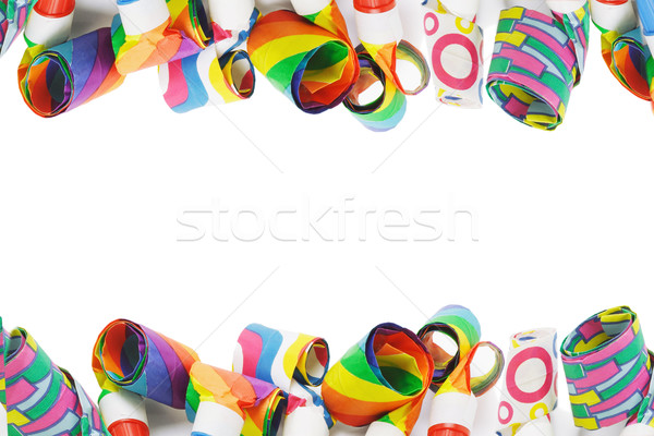 Assorted Party Blowers Stock photo © dezign56