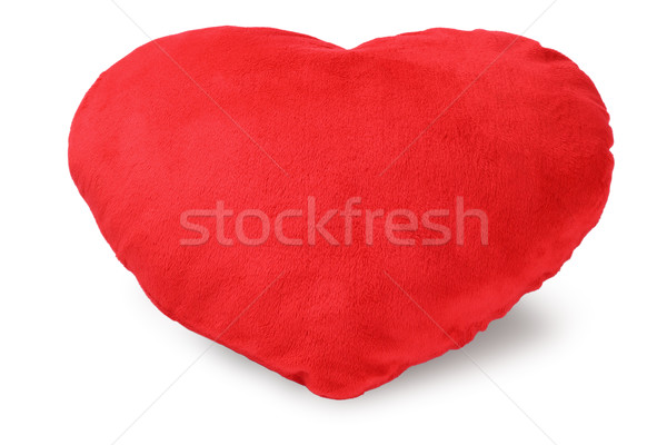 Love Heart Cushion Stock photo © dezign56