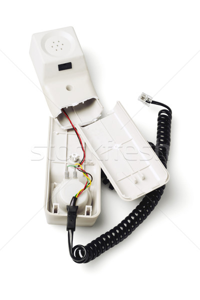 Broken Telephone Handset Stock photo © dezign56
