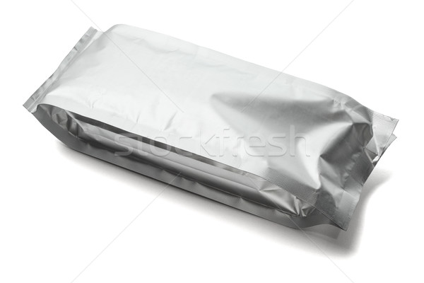 Aluminium emballage alimentaire chocolat sac plastique Photo stock © dezign56