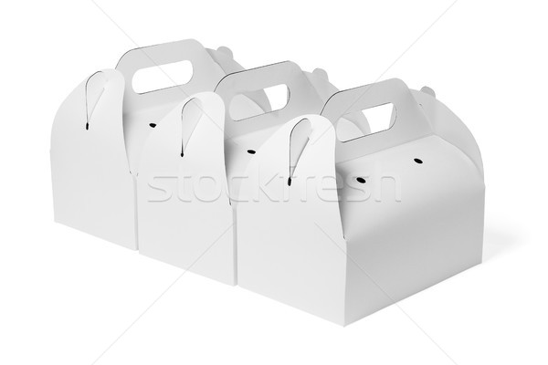Takeaway Cake Boxes Stock photo © dezign56