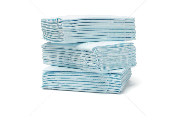 Blue folded tissue papers Stock photo © dezign56