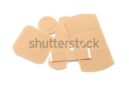 Steun drie eerste hulp medische gips gezondheidszorg Stockfoto © dezign56