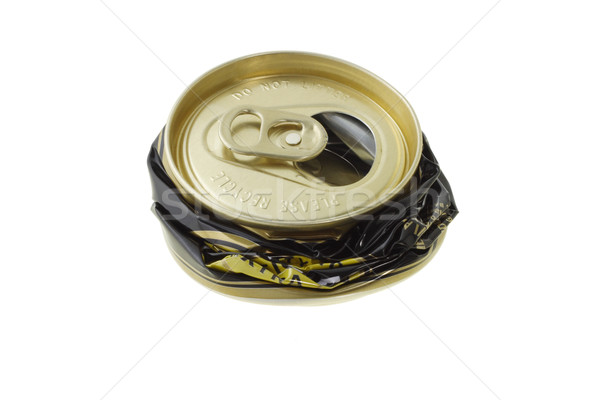 Crushed disposable can  Stock photo © dezign56