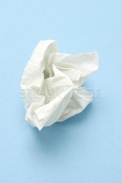 Crumpled tissue paper Stock photo © dezign56