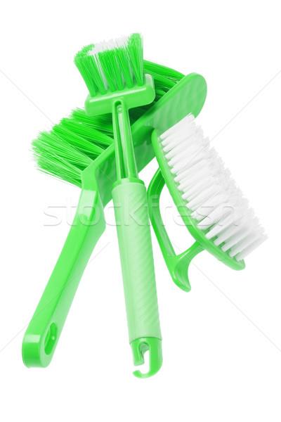 Household Brushes  Stock photo © dezign56