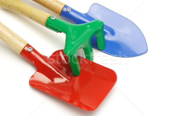 Toy gardening tools Stock photo © dezign56