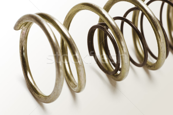 Metal spring coils Stock photo © dezign56