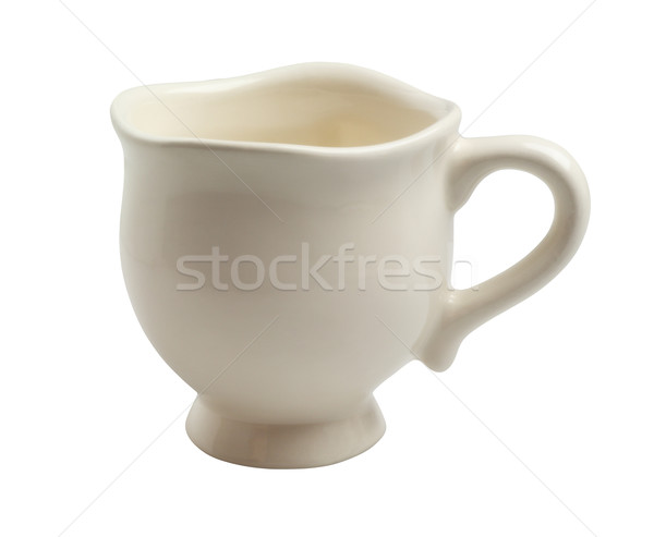 Porselein witte ontwerp thee beker Stockfoto © dezign56