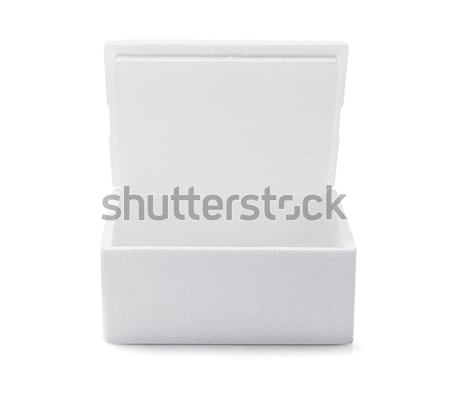 Open Styrofoam Box  Stock photo © dezign56