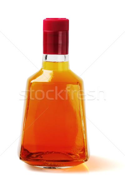 üveg alkoholos ital fehér ital alkohol konténer Stock fotó © dezign56